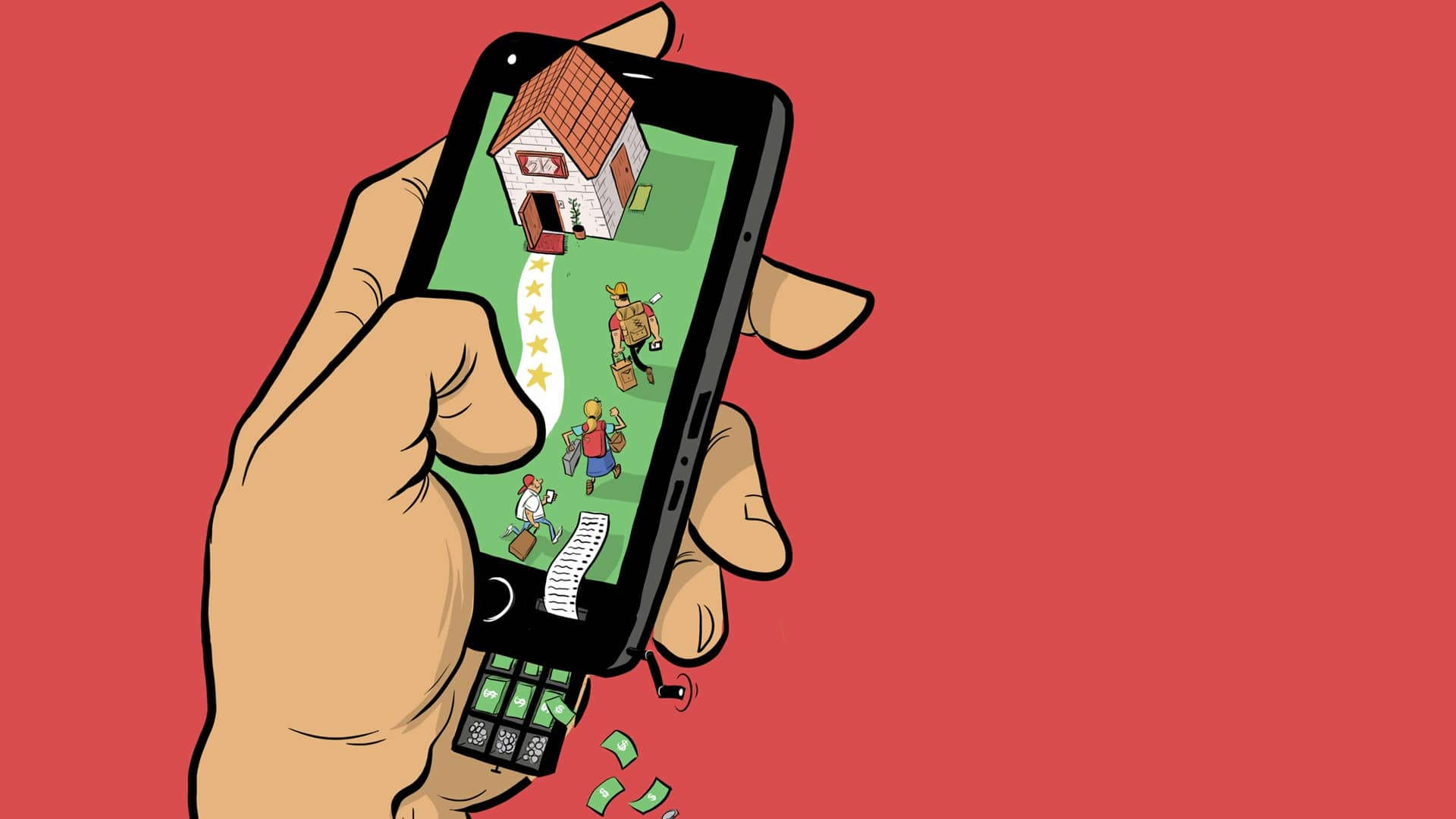 16-08-30 Mi Casa Su Casa Home Sharing, renting And The Tax Man- TD MoneyTalk Life Story Illustration Feat
