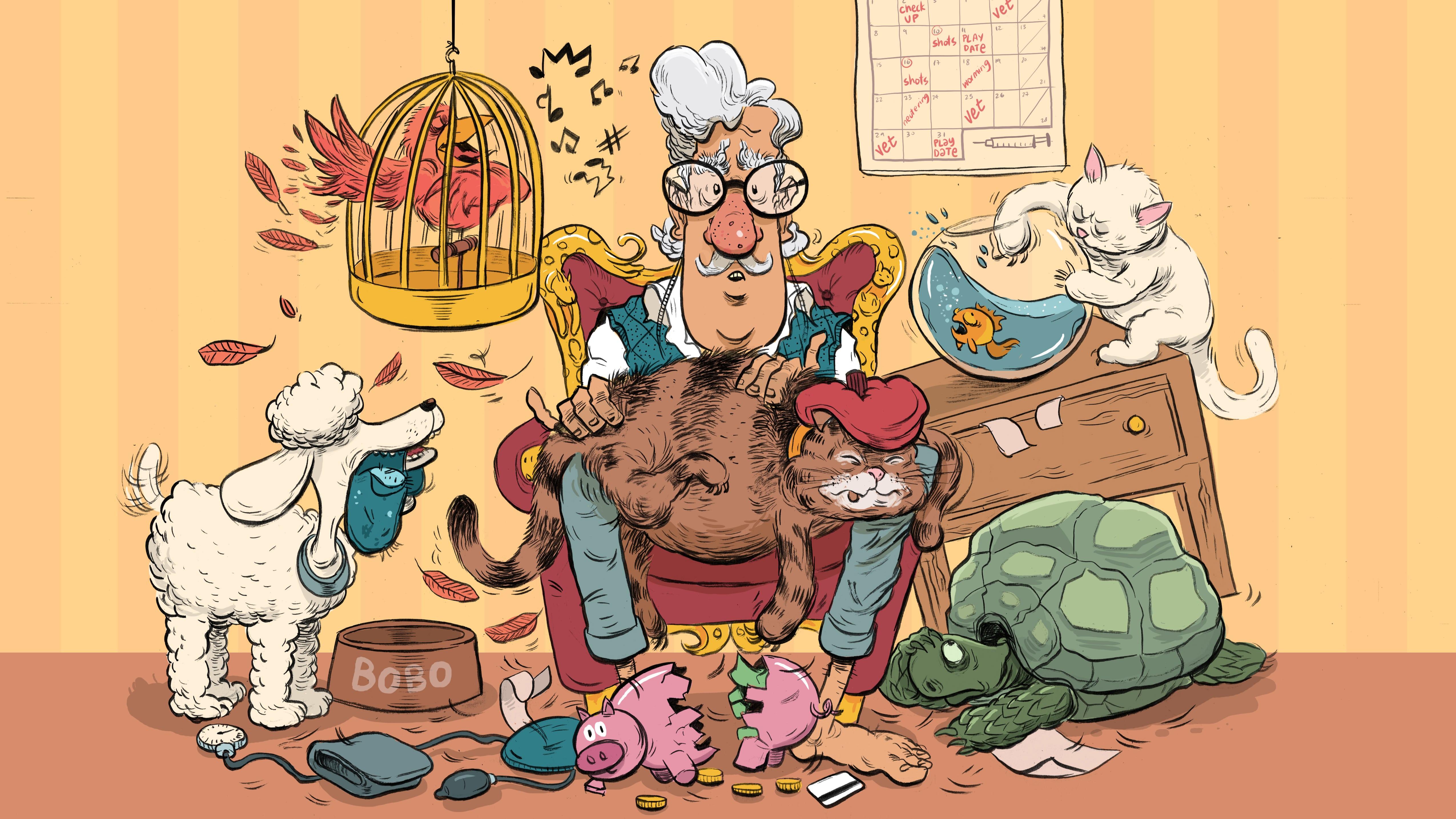 Pets in Retirement