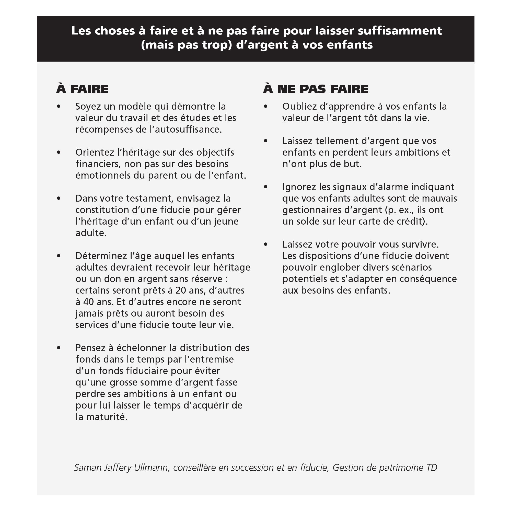Planification de la succession et du patrimoine : comment ne pas gâter vos enfants