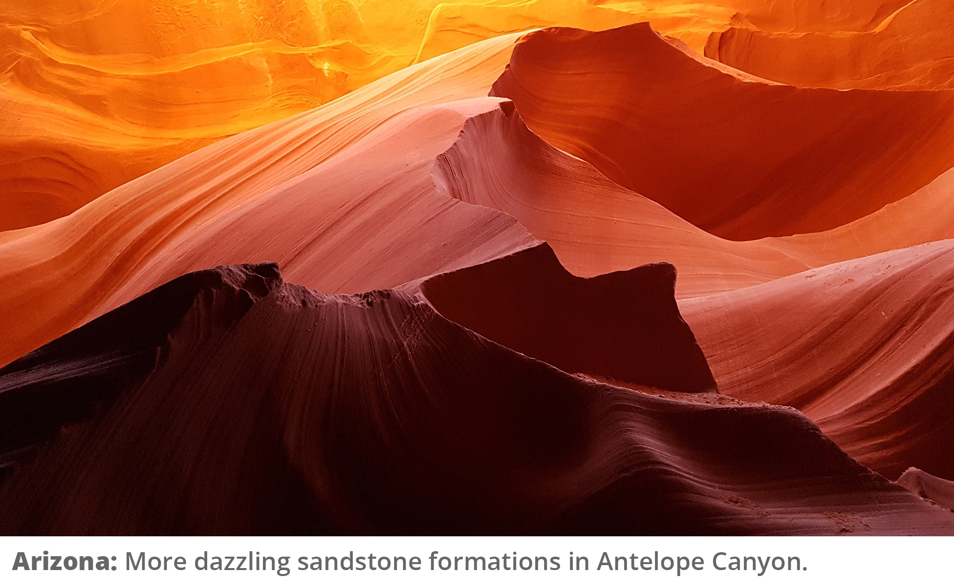 Honeymoon Road Trip - Antelope Canyon