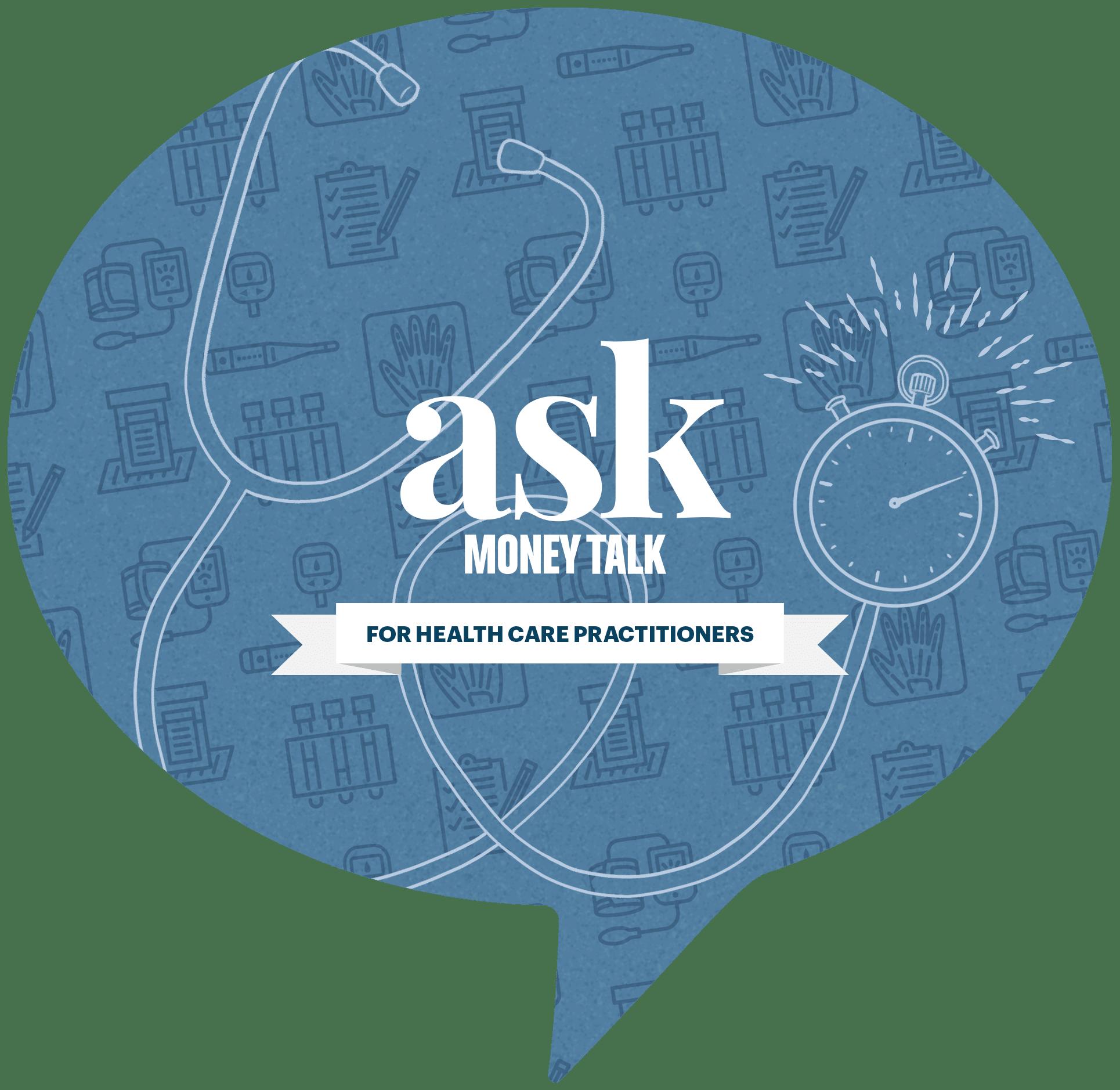 askmoneytalk logo for doctor opportunity cost