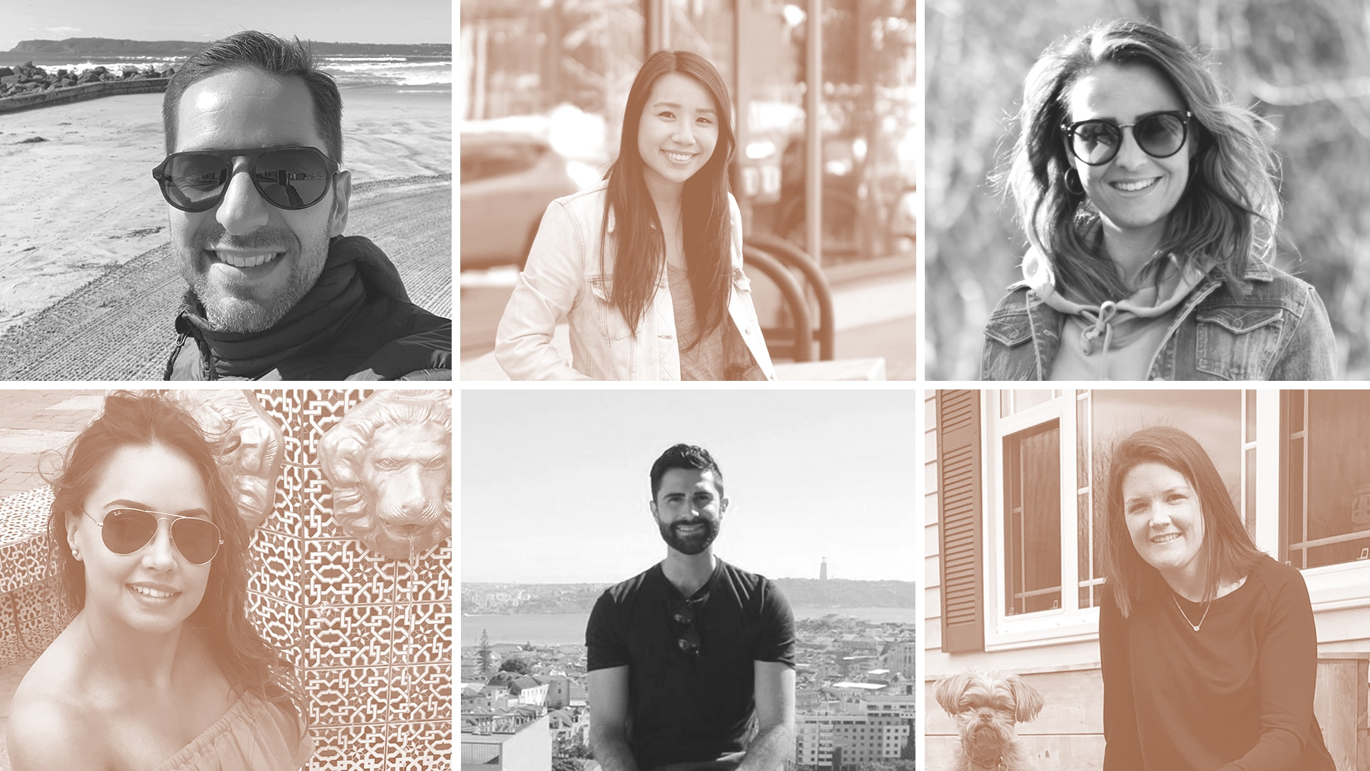 six portrait images of TD financial advisors
