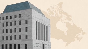 BoC keeps key rate unchanged, but sees weakness ahead