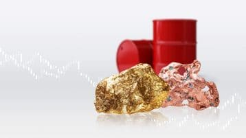 Coronavirus fears hit oil and copper. Gold stays golden