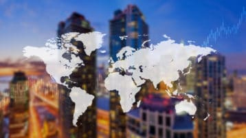 Riding out market bumps: Diversification through global real estate